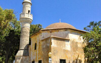 Op de Turkse begraafplaats van Rhodos