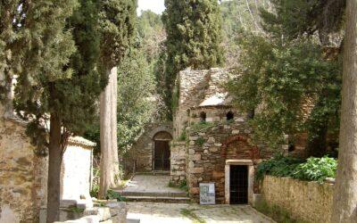 Ymittos, de groene long van Athene