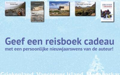 Geef een gesigneerd reisboek cadeau!